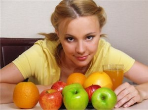 Healthy eating - at a fitness bootcamp